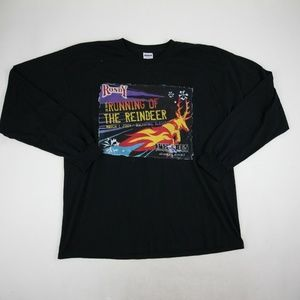 Rondy Running of the Reindeers Long Sleeve T Shirt